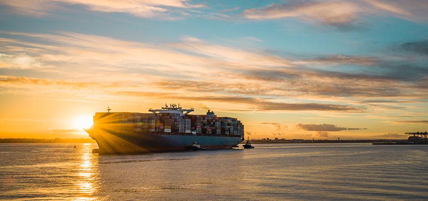 Maersk Skarstind visits Melbourne