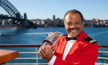 Love Boat star promotes cruise ship's return