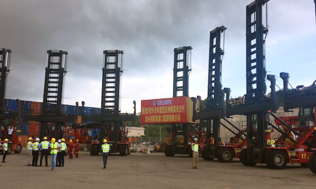 Kalmar supplies container handlers to Chinese business