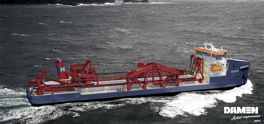 Wärtsilä chosen for propulsion of hopper dredger