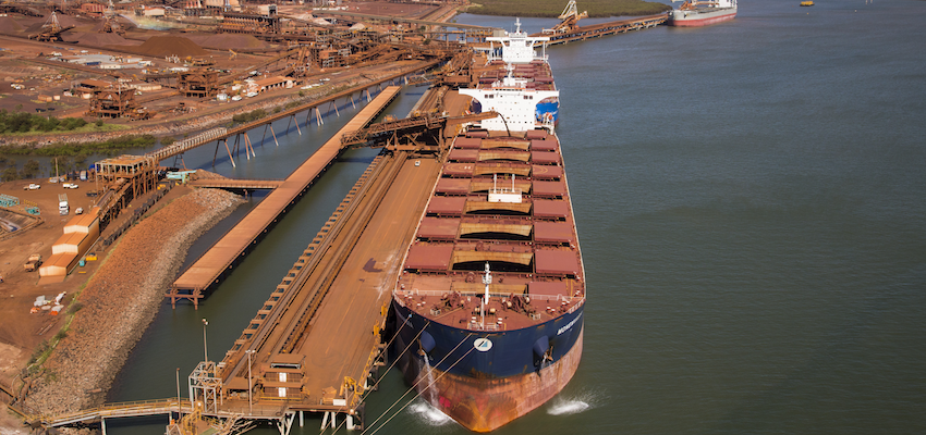 Pilbara annual shipping figures remain strong