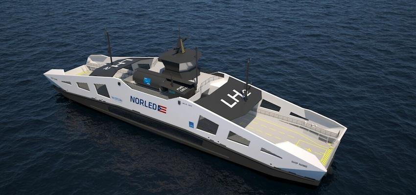 Hydrogen deployed to power Norwegian car carrier