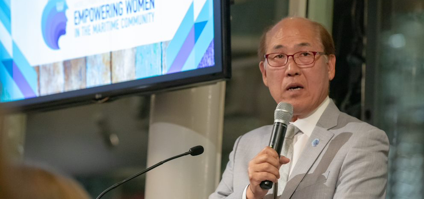 IMO secretary-general addresses industry at AMSA event | The DCN