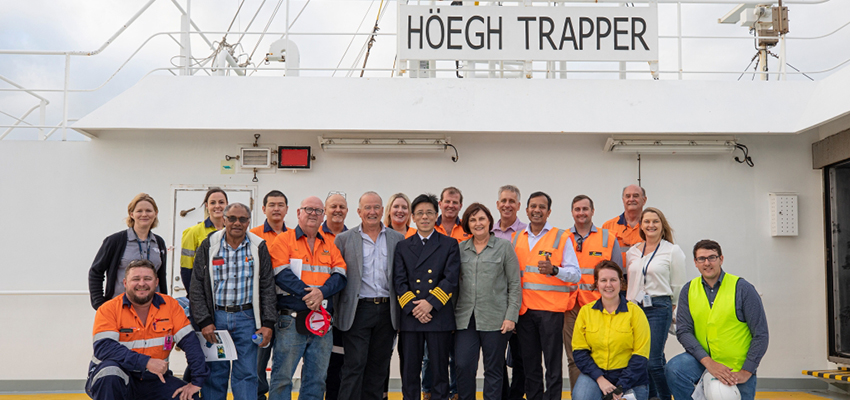 Hoegh Trapper returns to Mackay