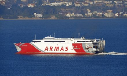 New ferry set to sail from Tassie shipyard to Spain
