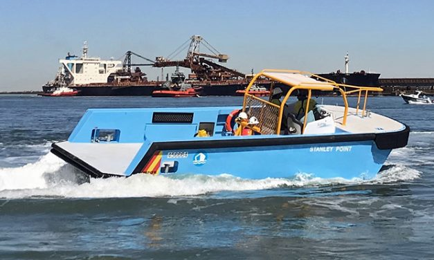 Specialist harbour vessel supplied to Port Hedland