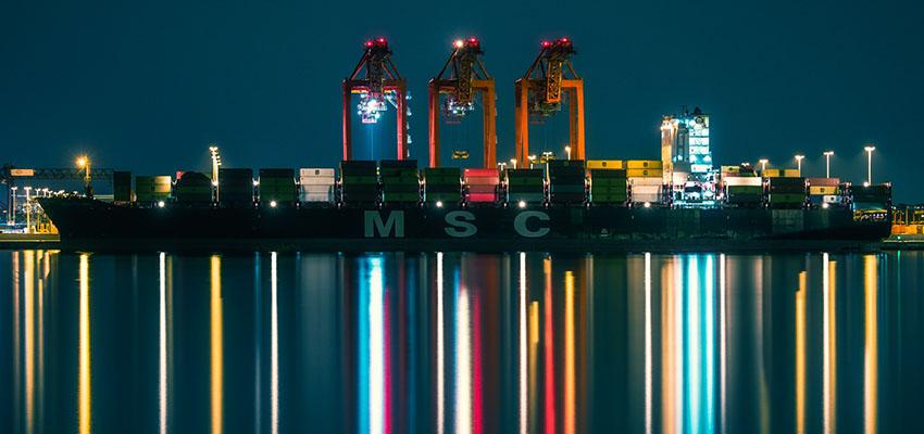 VIDEO: MSC Elma docks at Port Botany