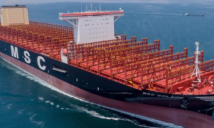 MSC unleashes giant boxship