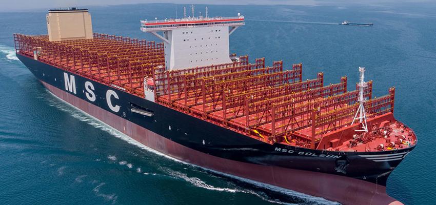 MSC unleashes giant boxship