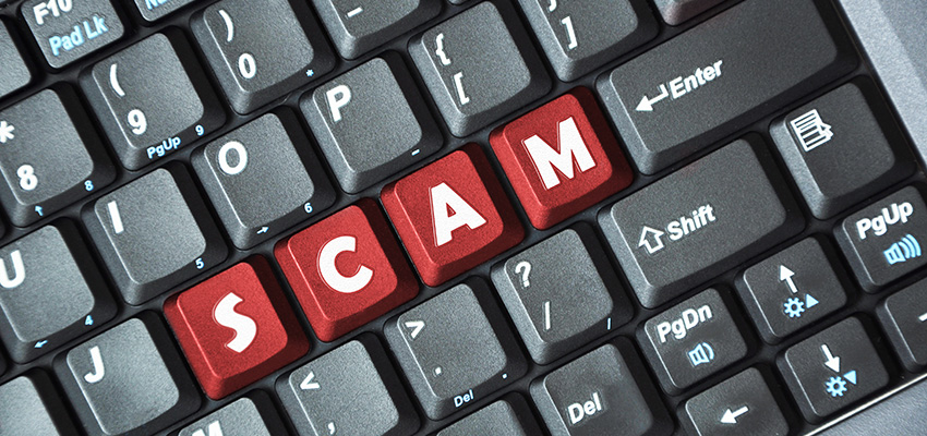 Freight forwarding scam warning