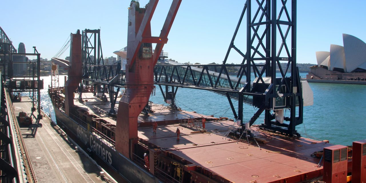New gangways delivered to Sydney cruise terminal
