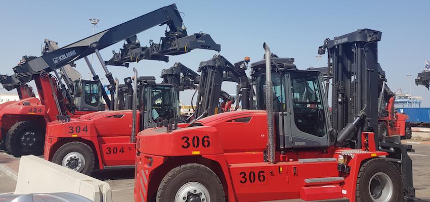 Finnish equipment for Israeli port