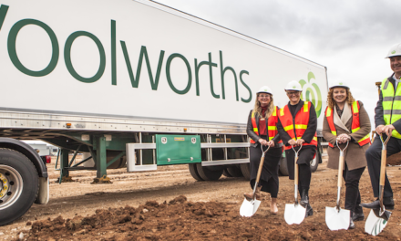 Woolworths breaks ground on new distribution centre