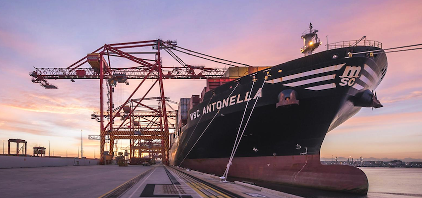 Another large ship for NSW Ports