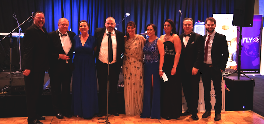 Industry ball raises thousands for charities