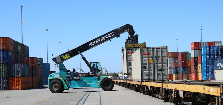 Fremantle Ports marks record rail performance