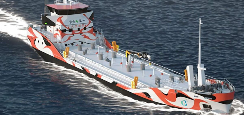 Japanese partnership to develop zero-emissions electric tankers