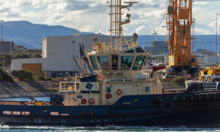 Port Kembla welcomes SVITZER Ruby