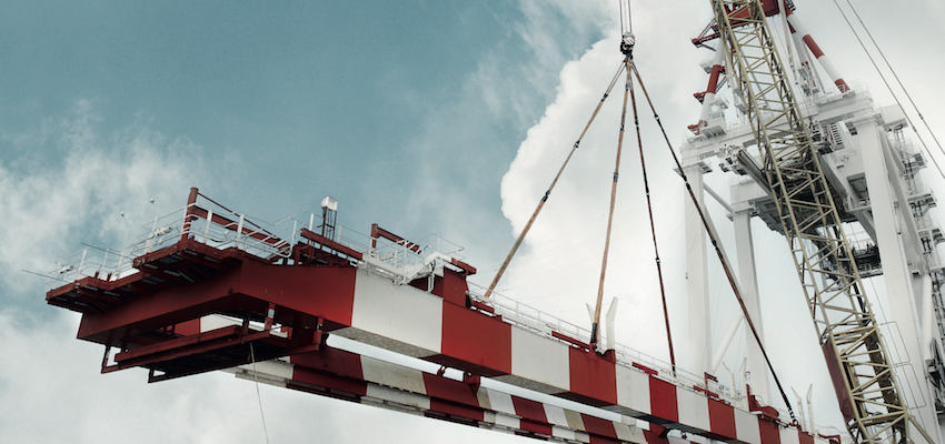 Ship-to-shore crane upgrades for Moroccan container terminal