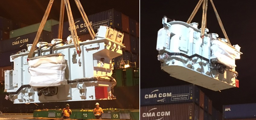 More than meets the eye: transformer arrives in Townsville