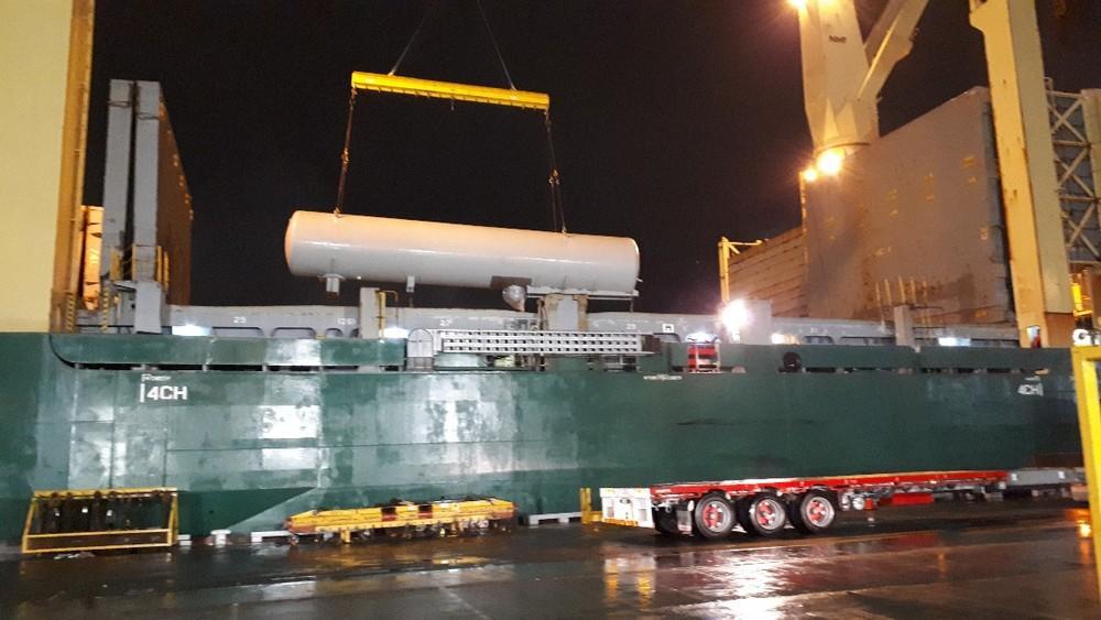 LPG tankers unloaded at Melbourne