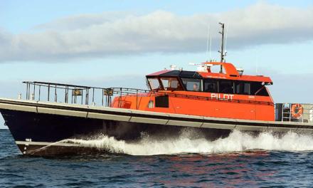 Port of Fremantle puts second pilot boat through its paces