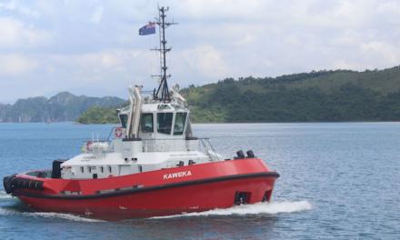 Napier Port boosts fleet with third tug