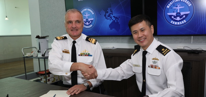 Australia and Singapore civil maritime security collaboration