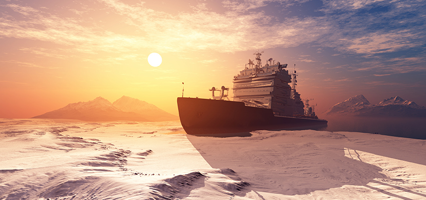 VIDEO: Pilot boards a Finnish icebreaker