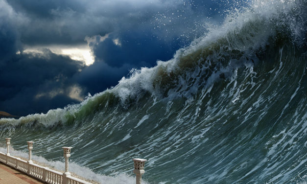 Tsunamis and the risks to ports and shipping