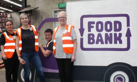 Port helps Foodbank