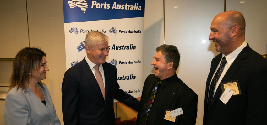 Ports Australia holds function at Parliament House