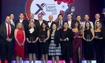Achievement recognised at NSW Export Awards
