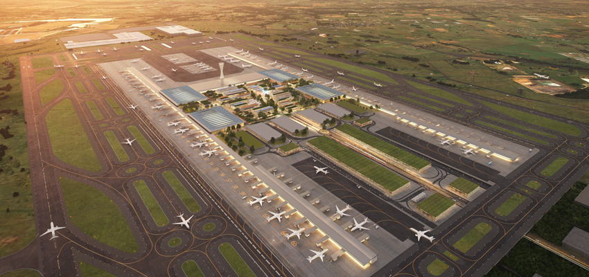 Western Sydney airport terminal design revealed