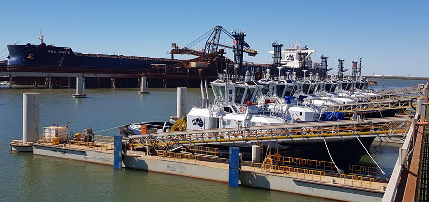 Port Hedland's second towage provider casts off