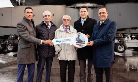 Liebherr maritime cranes reach another milestone