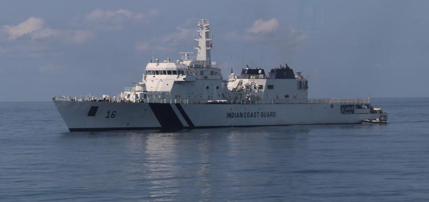 ABF & Indian Coast Guard exercises hailed a success