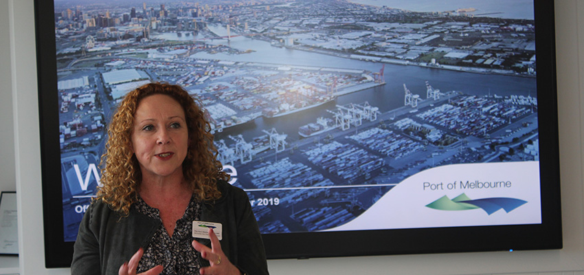 Port of Melbourne unveils its new home