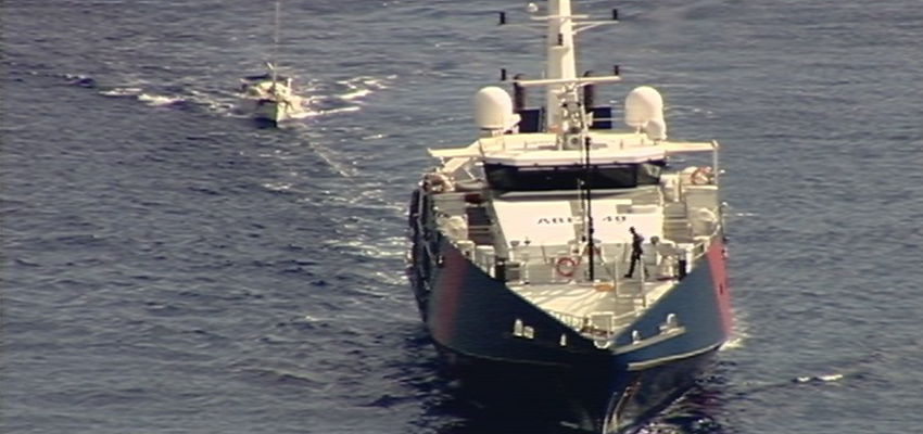 Rogue yachtsman foiled by ABF patrol boat