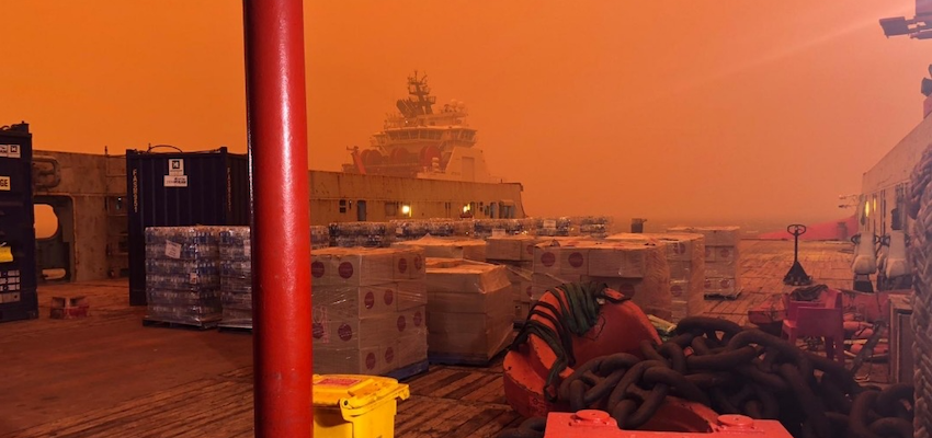Bushfire crisis shows importance of Australian shipping: MUA