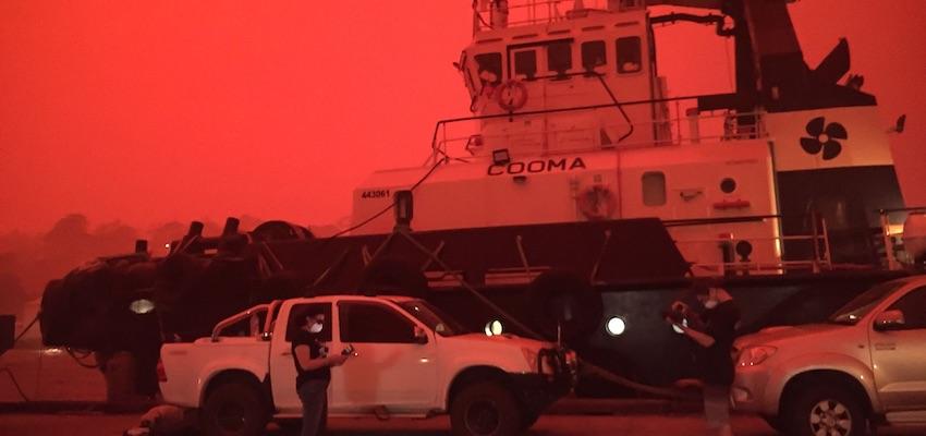 Ports Australia recognises industry contribution to bushfire relief