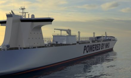 Shipping players to develop ammonia-powered vessel
