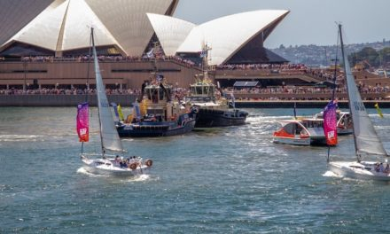 Celebrating Australia Day on the water