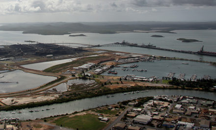 Channel widening program for Gladstone