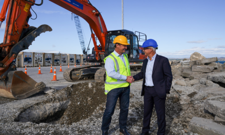 Works starts on new wharf for Hawke's Bay