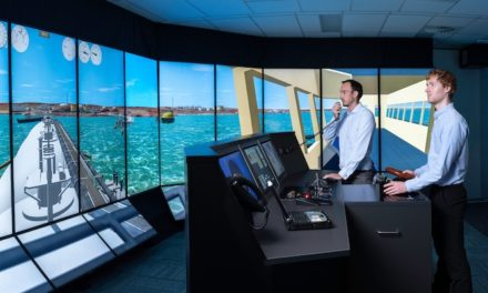 Minister opens expanded ship simulation centre