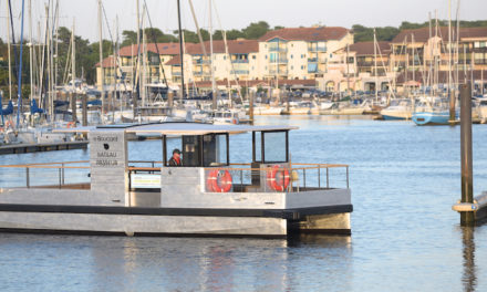 Capbreton goes green with all-electric passenger ferry