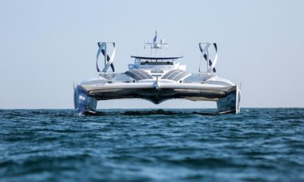 World trip for hydrogen-fuelled vessel