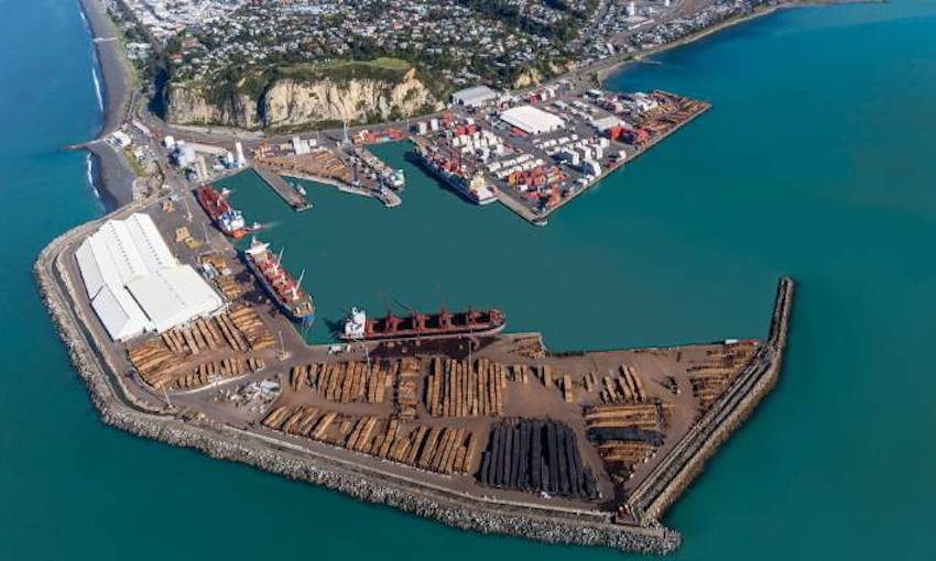 Napier Port reports huge increases in trade in the past quarter