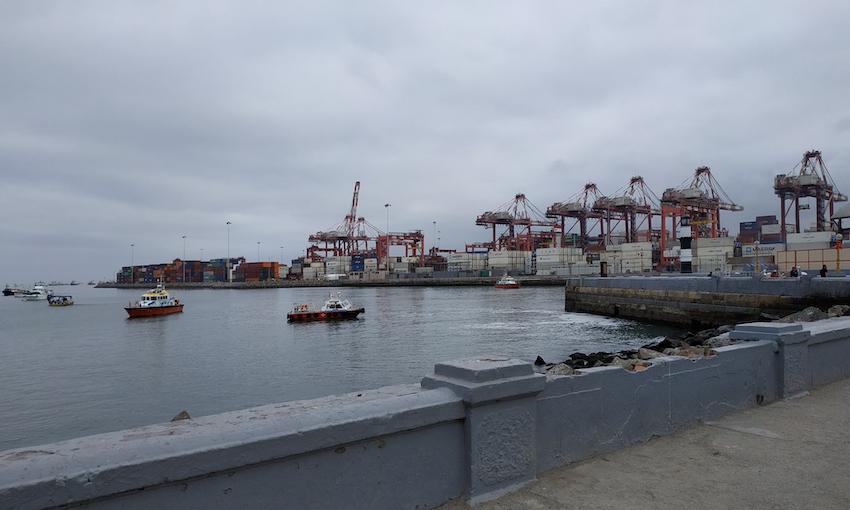 VTS solution to improve safety at fogbound Peruvian port